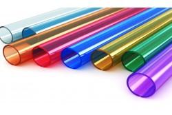 Rury szklane kolorowe