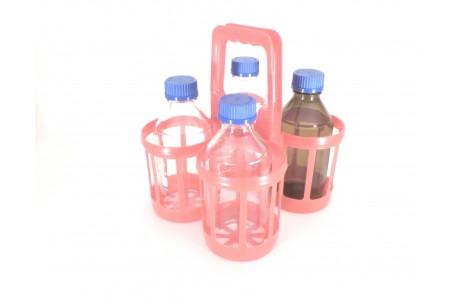 Nosidło z tworzywa na 4 butelki 1000 ml