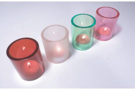 Osłony na świeczki typu t-light.