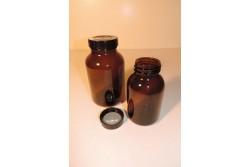 Słoiki szklane z szeroką szyją
