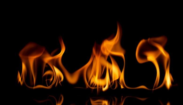 Żel płonący
